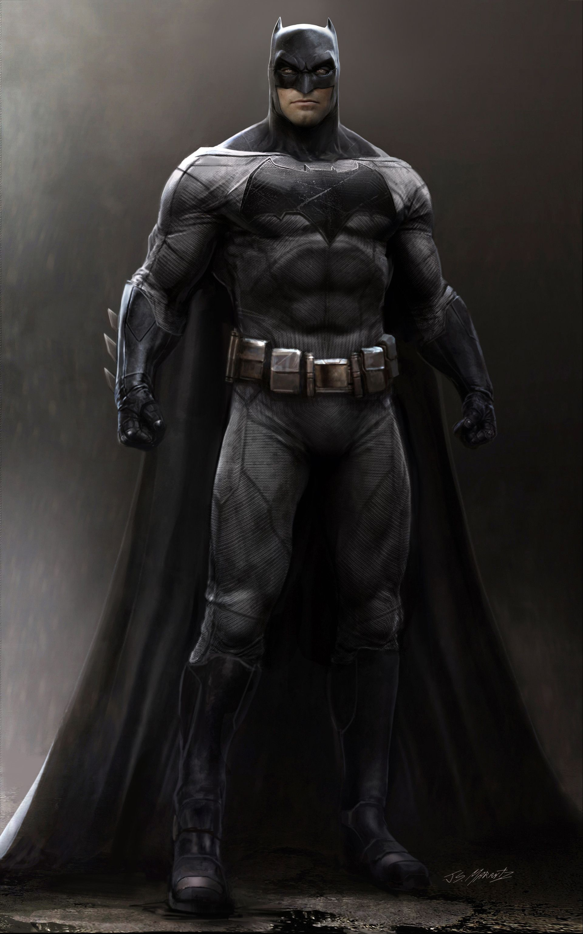 Unique Batman Vs Superman Bedroom Ideas That Rock: Batman Vs. Superman: Batman Concept Costume Illustration