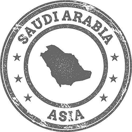 Saudi Arabia Map Asia Grunge Rubber Stamp Home Decal Vinyl Sticker 12 X 12 You Can Get Additional Details At The Image Link I Stamp Africa Map Logo Sticker