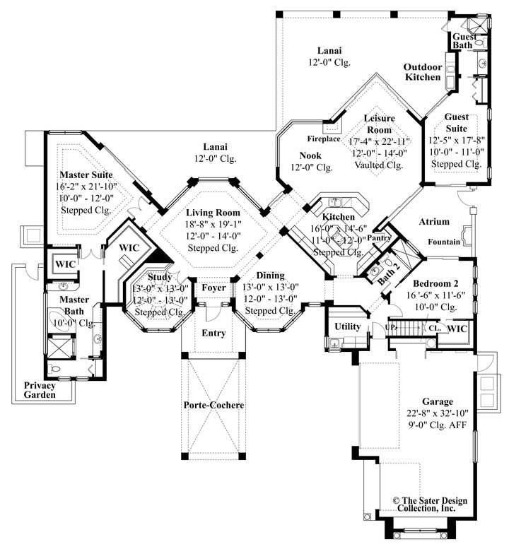 Isabel House Plan House Plans Custom Home Plans Mediterranean Style House Plans