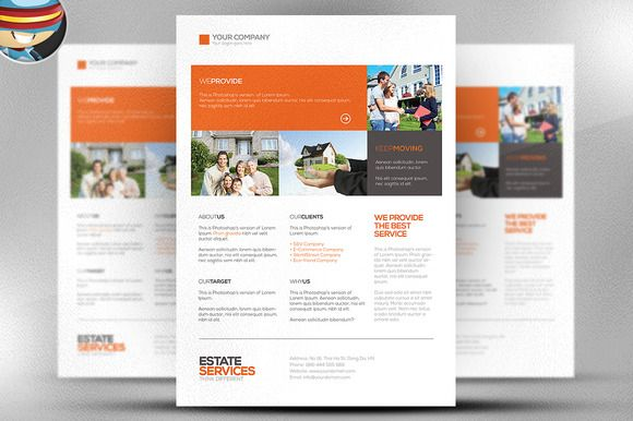 Check out Corporate \/ Real Estate Flyer by FlyerHeroes on Creative - web flyer