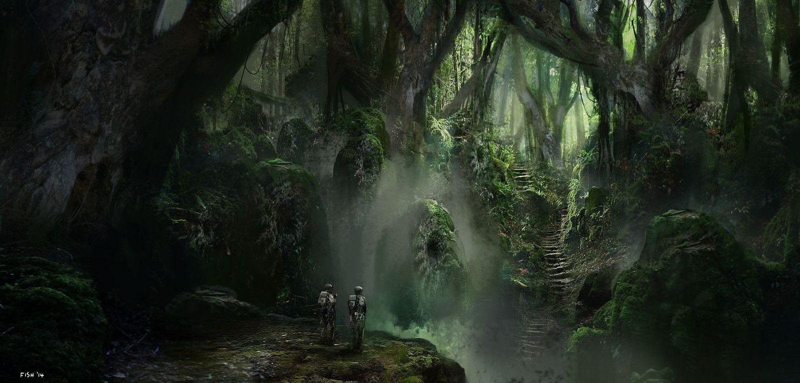 Jungle Mist by Fish032.deviantart.com on @DeviantArt