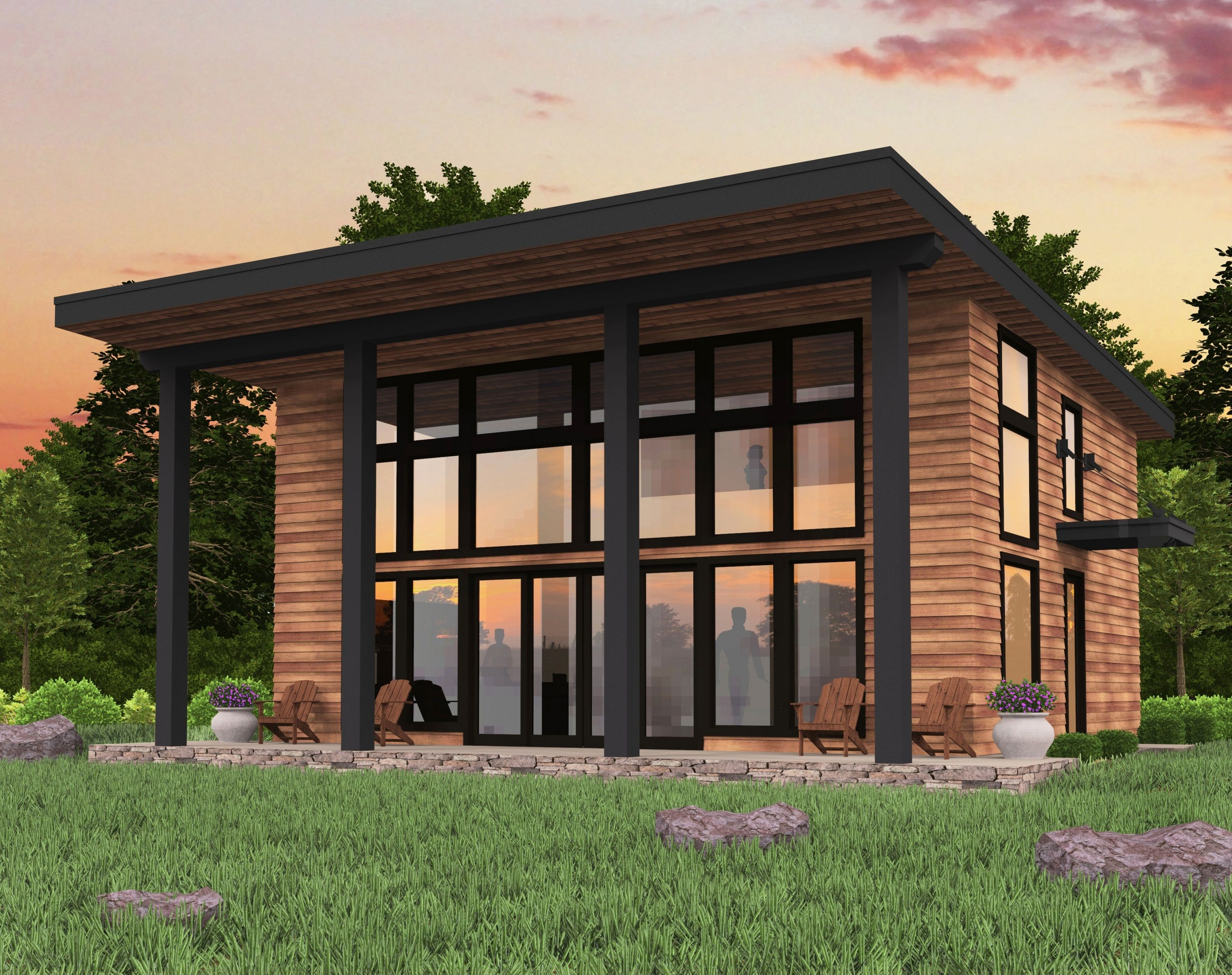 Bamboo House Plan Bamboo House Design Small Modern House Plans