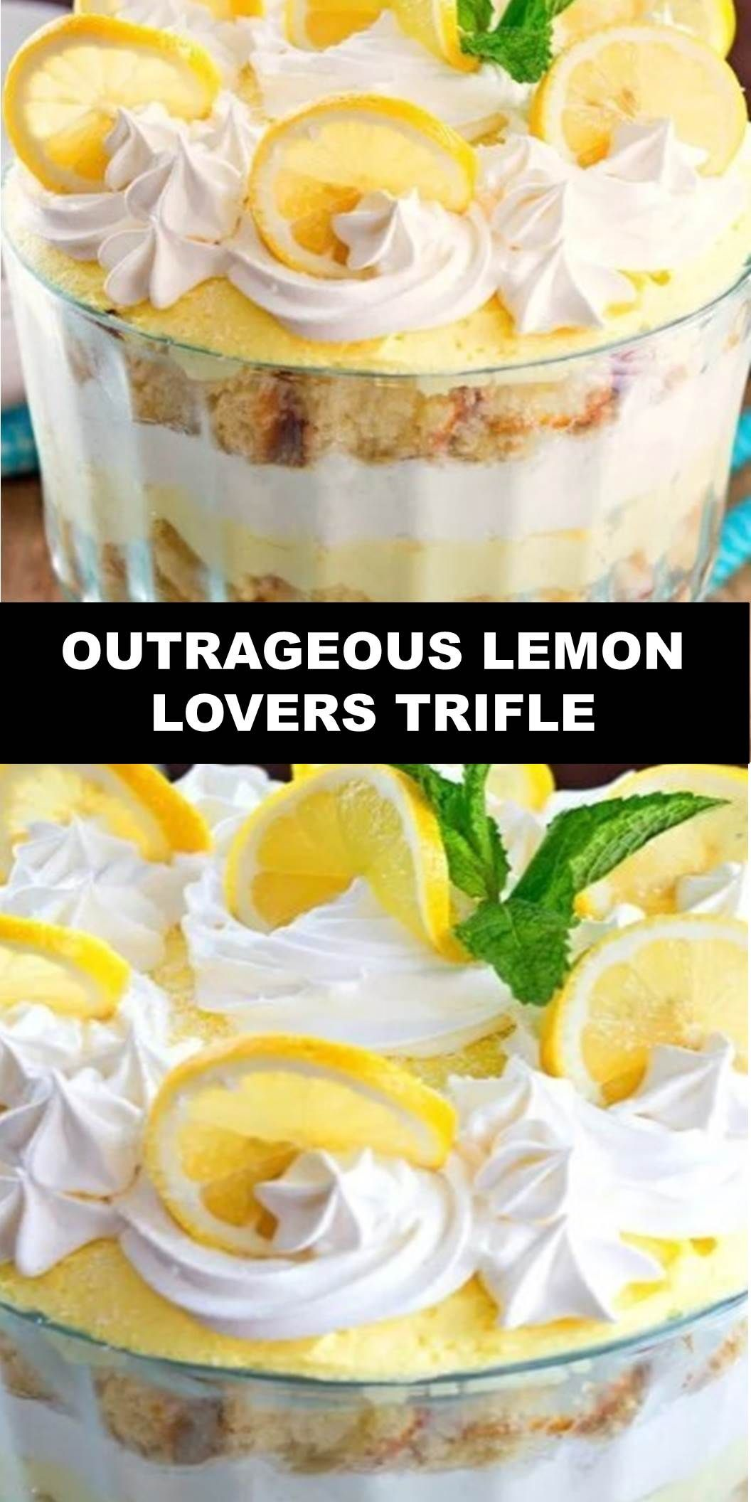 The World's Most Delicious Cake Outrageous Lemon Lovers Trifle Servings: 12Author: Melissa Sperka