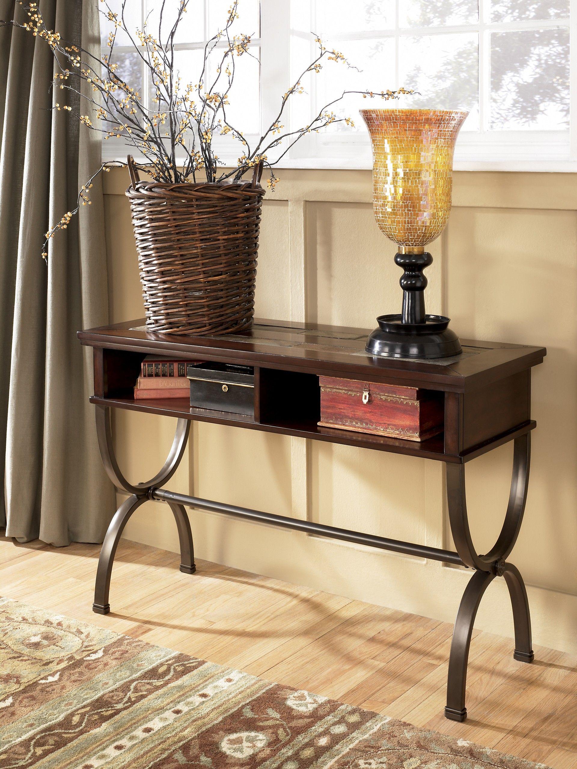 Ashley Zander T415 4 Signature Design Console Sofa Table