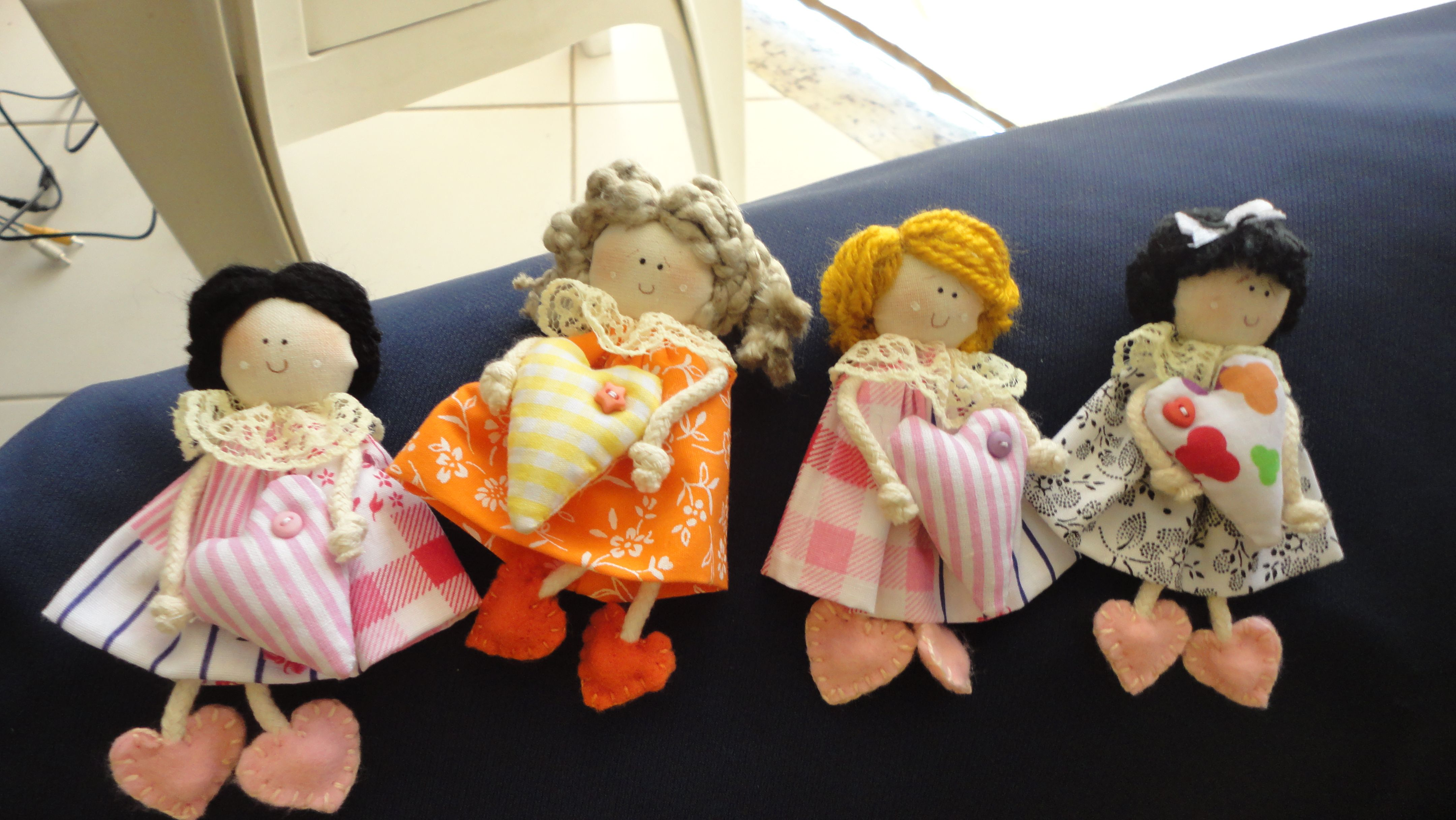 Mini Bonecas sachê.