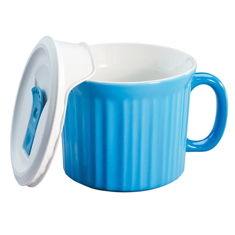 AmazonSmile: Corningware French White 20-Ounce Mug with Vented ...