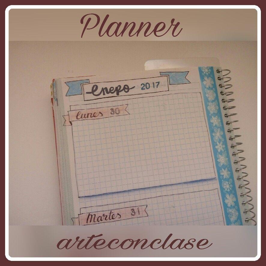 #Planner #agendas #organizar #personalizar #decorar #doodles #banners #washitape