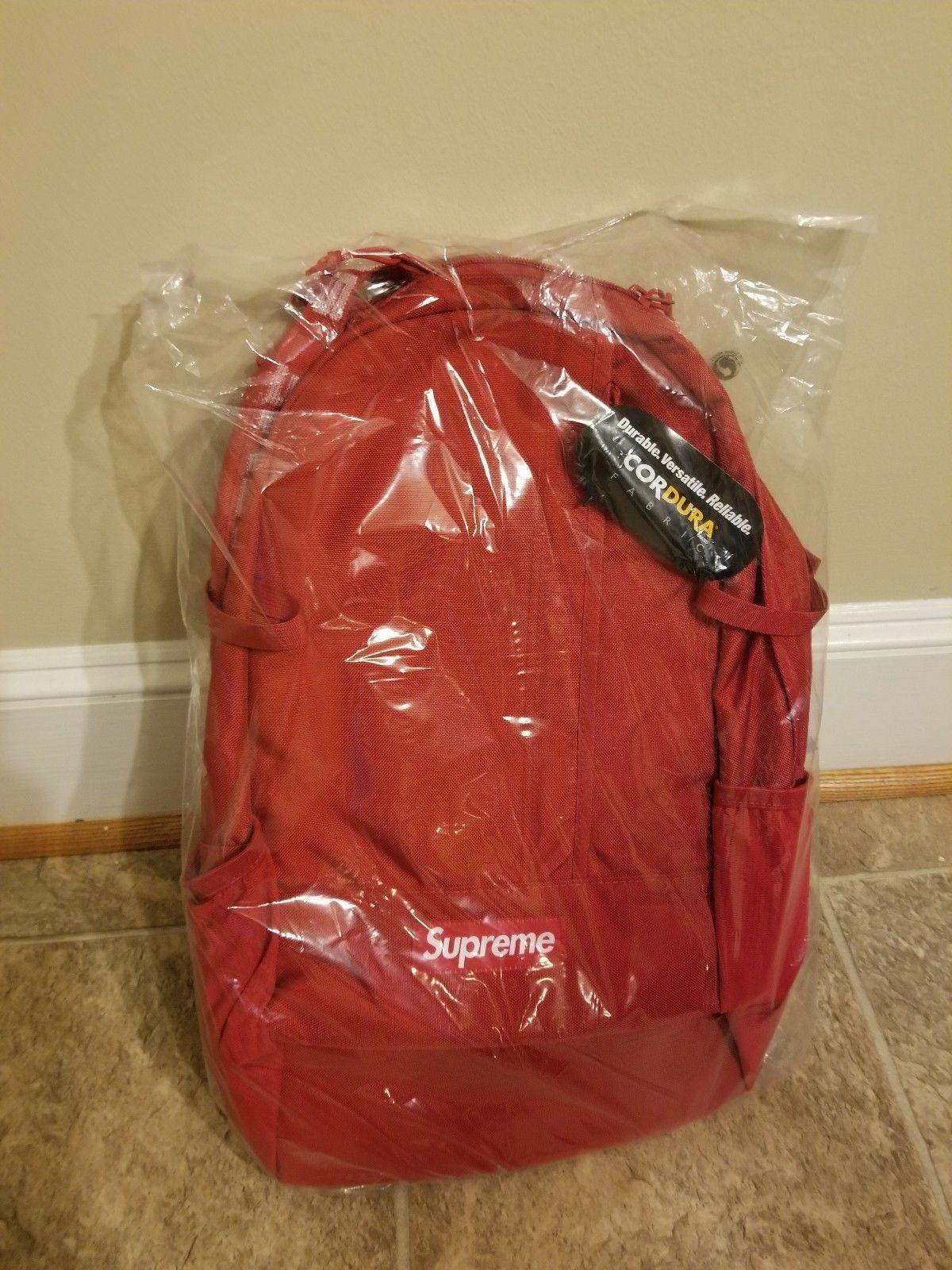 4642aea6 Supreme Bookbag Red