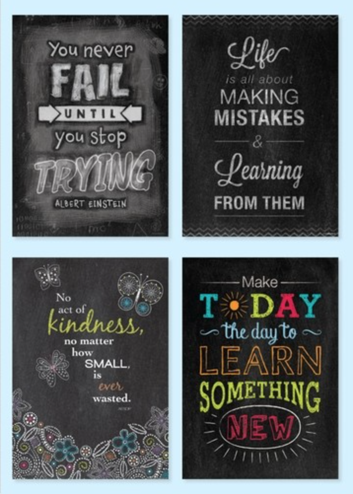 Classroom Design Quotes : Check out all of the inspire u poster line for great
