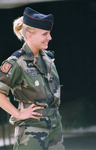 French army women