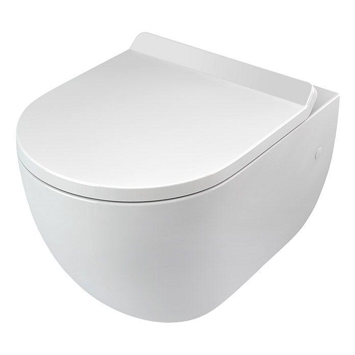 Camargue Spülrandloses Wand-WC Rom Bathroom Pinterest - kleine offene k amp uuml che