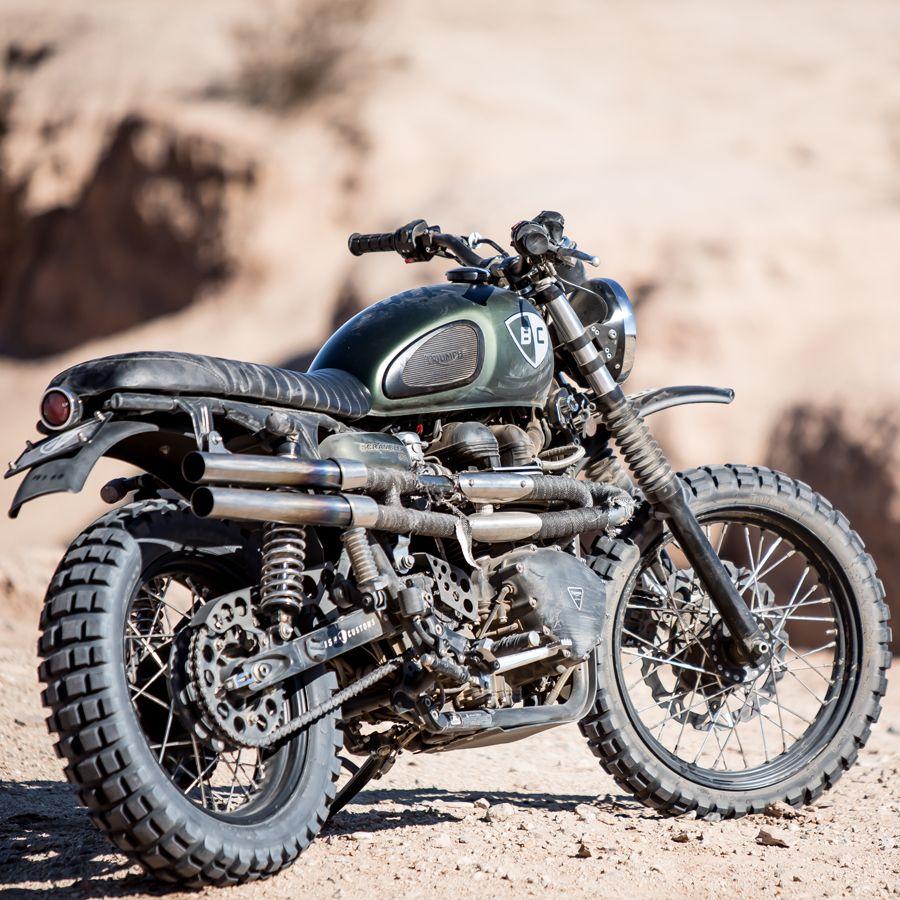 triumph scrambler with shotgun exhaust | motorcycles | pinterest