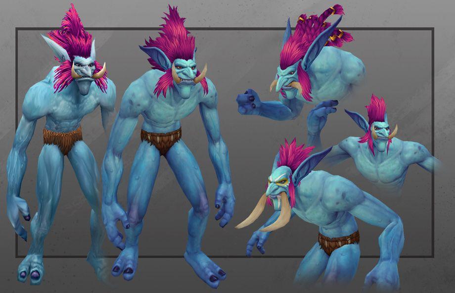 3d Welt Animation Warcraft Magos' modeling