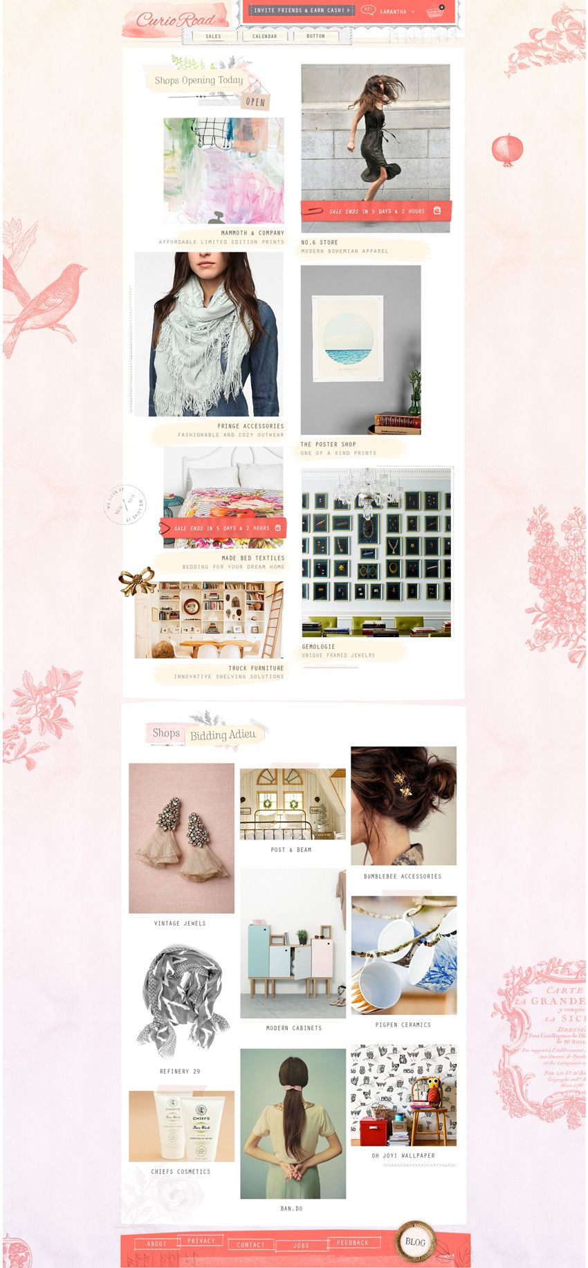 BLOG AND SHOP DESIGNS ARE AMAZING!