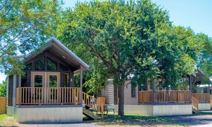 Stay In A Cabin Or Rv Site At Jellystone Park Guadalupe River In Kerrville Tx Dates Into April Jellystone Park Guadalupe River Stay The Night