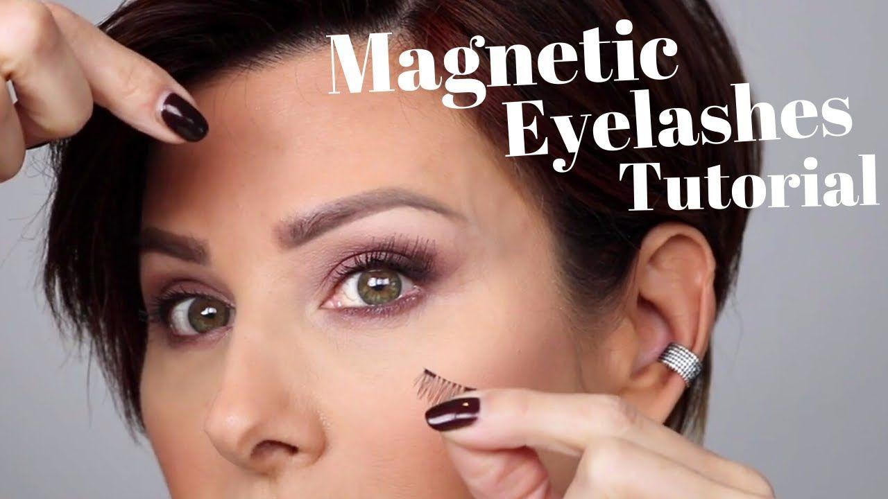 Eyelashes tutorial dominique sachse youtube