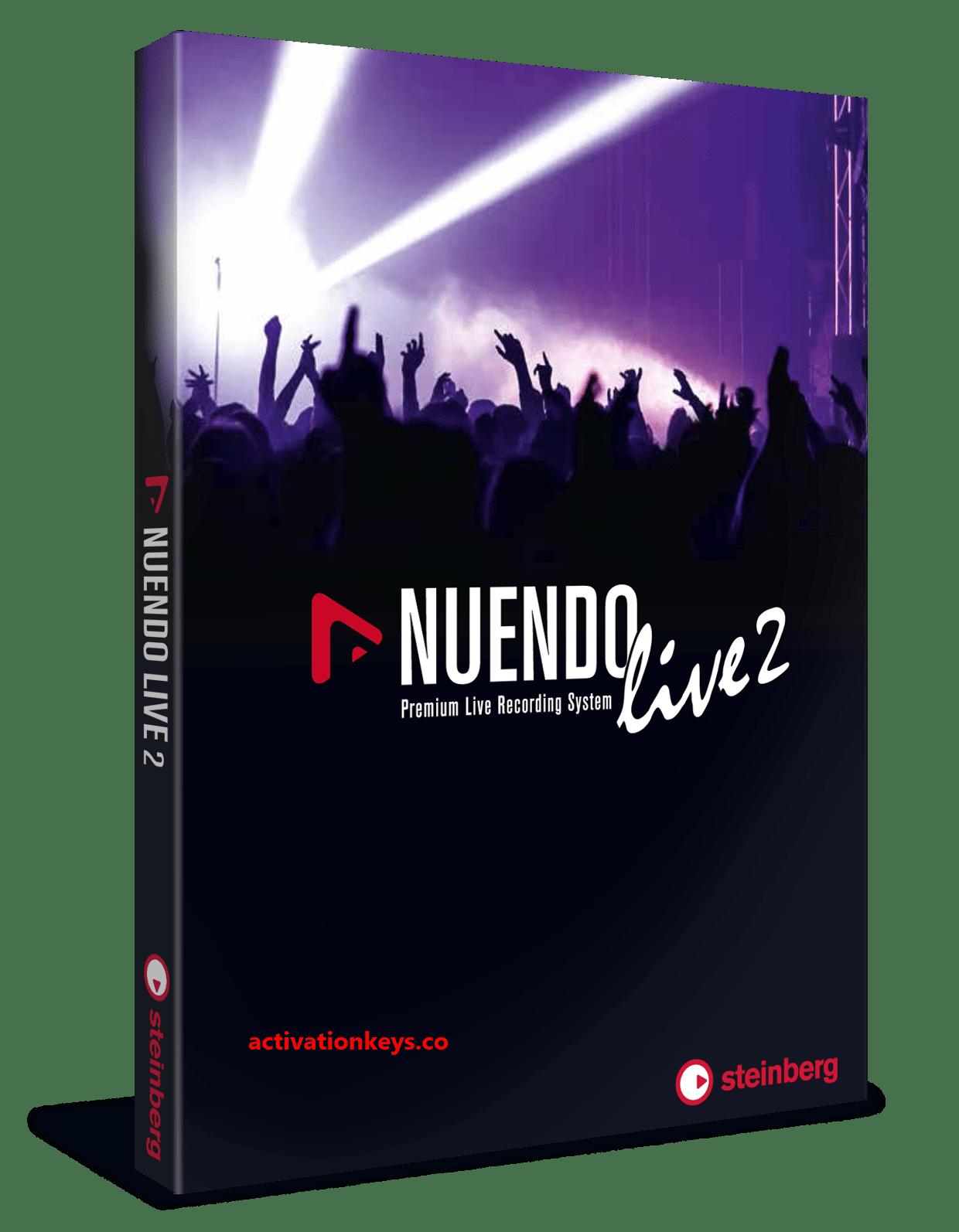 Steinberg Nuendo 8 3 20 Crack With Key Full Version Free