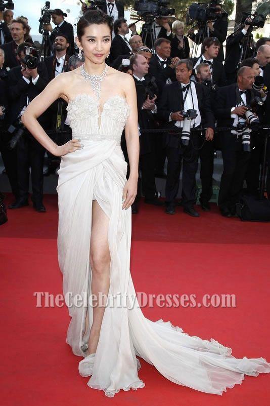 29bcb5ee016 Li Bingbing Strapless Prom Dress Cannes Film Festival 2011