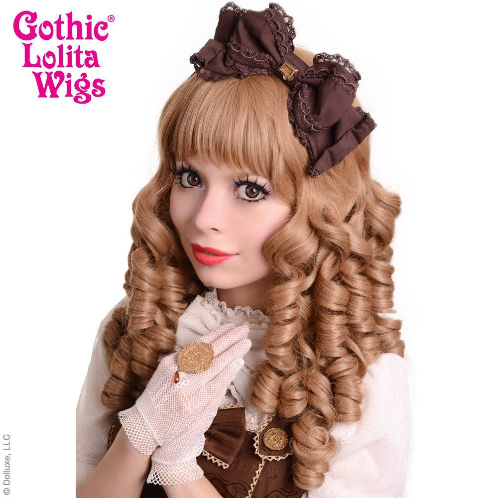 Gothic Lolita Wigs® Ringlet Redux™ Collection - Milk Tea Mix -00123