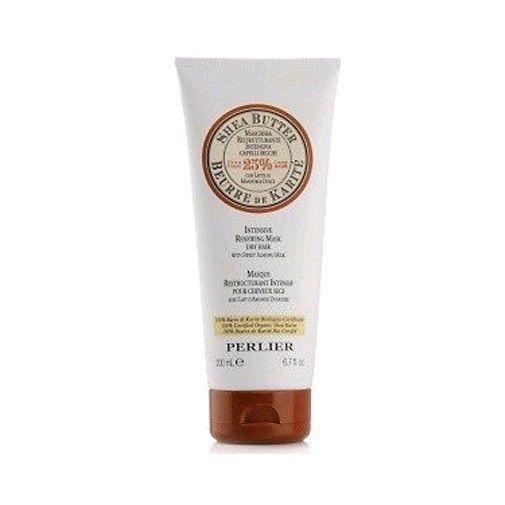 Perlier by Perlier, 6.7 oz Shea Butter Intensive Renewing Mask Dry Hair Sweet Almond Milk 8009740839651