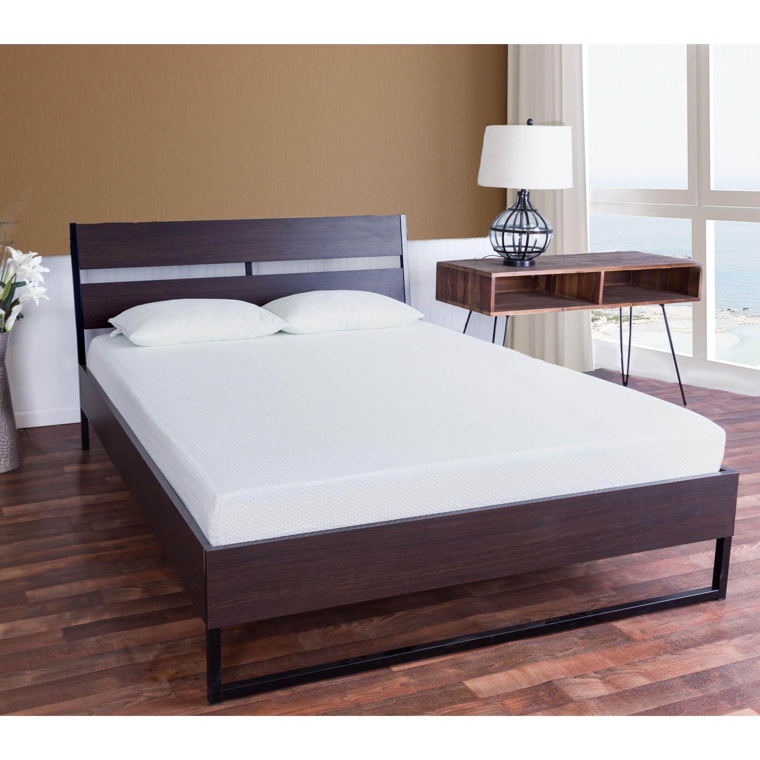Icon Sleep By Somette 10 Inch Twin Size Gel Memory Foam Mattress With Pillow Mattress Bed Slats Memory Foam
