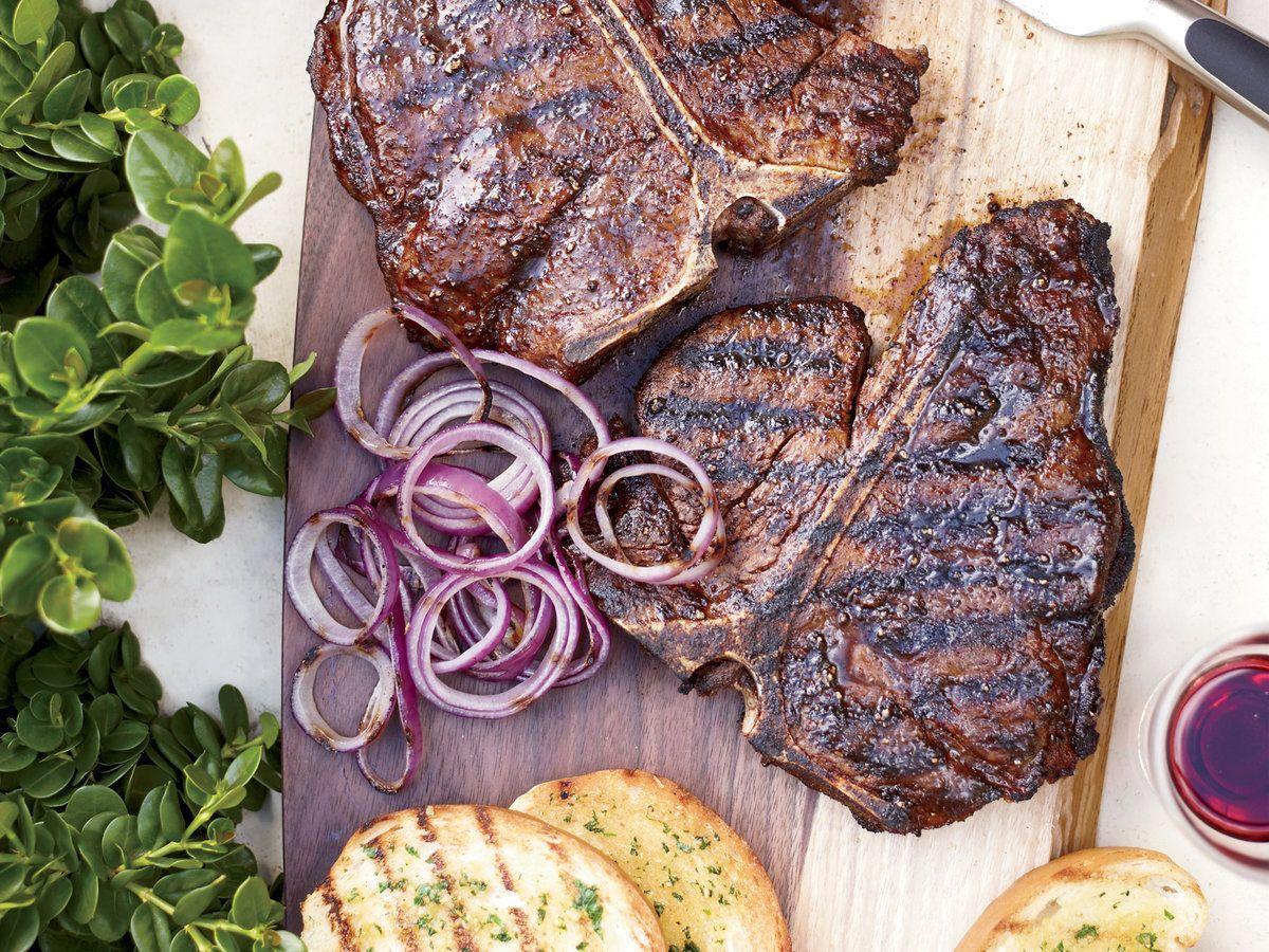T Bone Steaks With Texas Toast Steak Texas Toast T Bone Steak