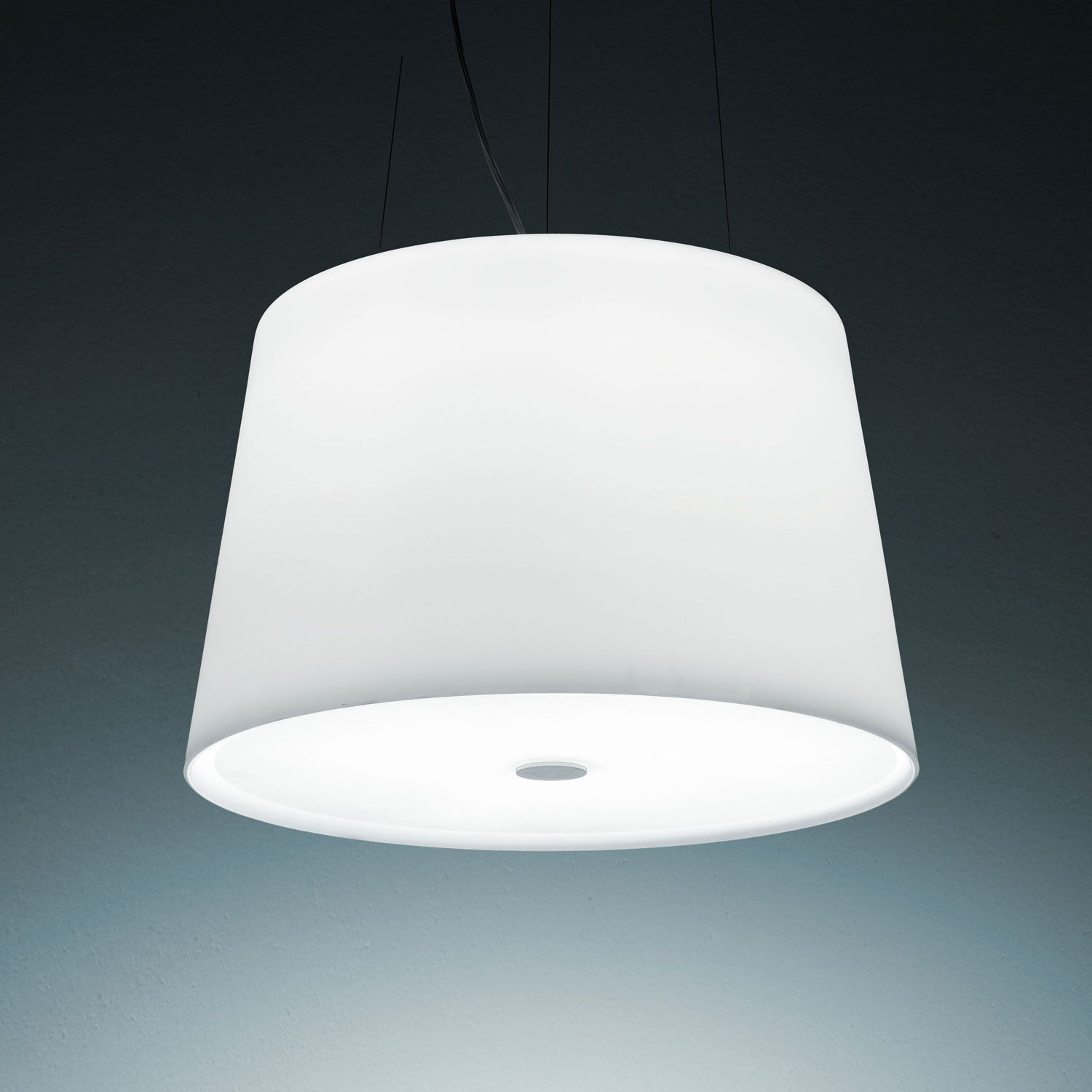 passion lighting. Passion (lighting):Suspension Lamp. Diffuser And Lower Disk In Blown Opal Glass Lighting L
