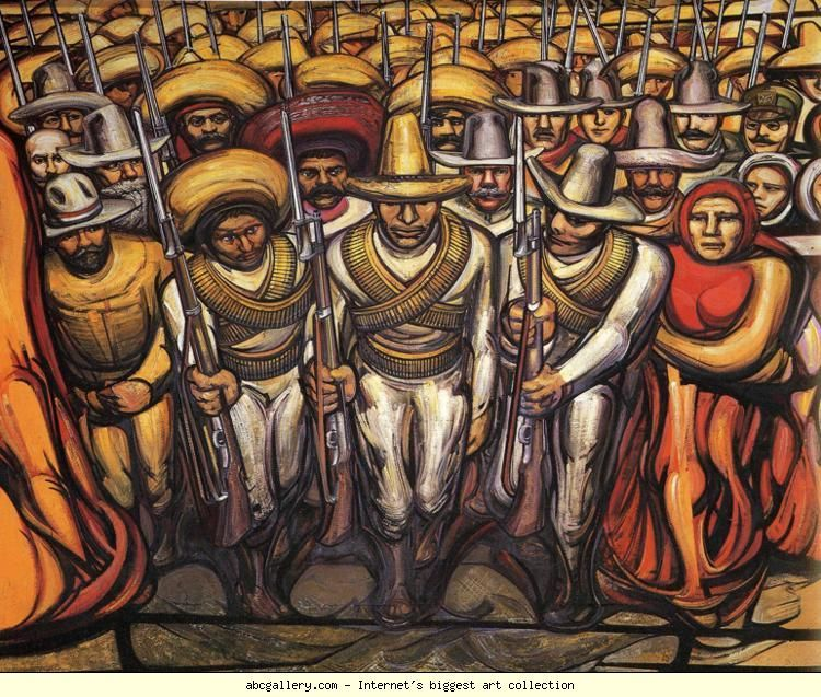 David Alfaro Siqueiros. From the Dictatorship of Porfirio ...