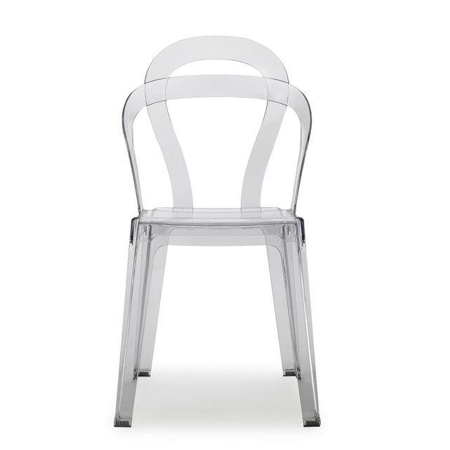 Chaise design - TITI - vendu à l\'unité - deco Transparent SCAB ...