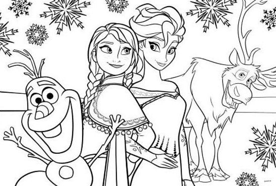 Gambar Mewarnai Frozen Gaming Frozen Coloring Pages Frozen