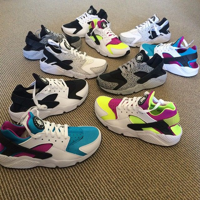 Best NIKEiD Air Huarache Run Designs on Instagram