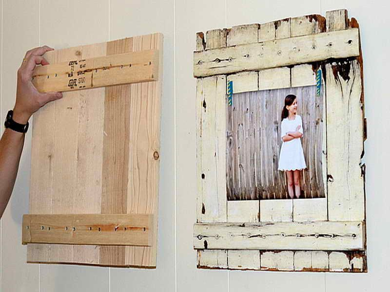 How to Make Your Own Picture Frame | creative things | Pinterest ...