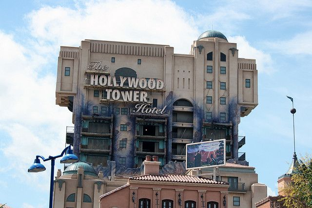 The Twilight Zone Tower Of Terror California Adventure Hollywood Tower Tower Of Terror California Adventure