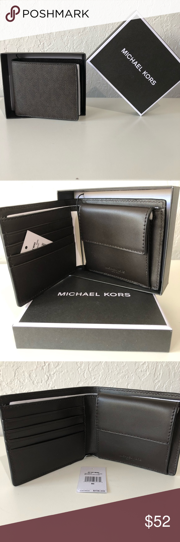 f9c946658f0c Michael Kors Men s Wallet Michael Kors Jet Set Mens