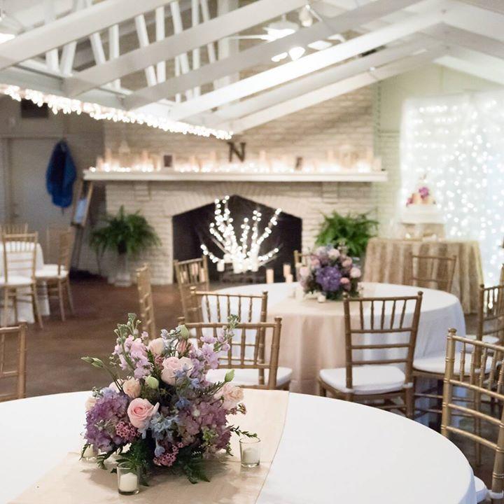 18 Beautiful Botanical Garden Wedding Venues: Mobile Botanical Gardens Inside Wedding Reception. Rainy