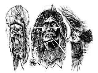 Native American Tattoo Designs And Meanings Pin Native American Tattoos And Meanings Pictu Indian Tattoo Design Indian Tattoo Native American Tattoo Patterns
