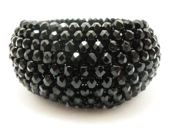 Black Bangle Bracelet Jewelry By Jalycme 145 00