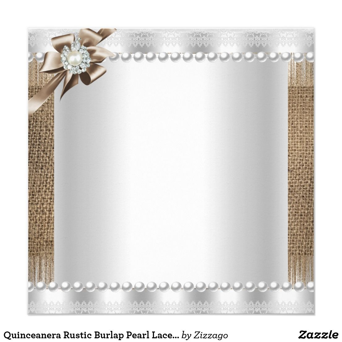 Create Your Own Invitation Zazzle Com Certificate Design Inspiration Invitations Flower Frame