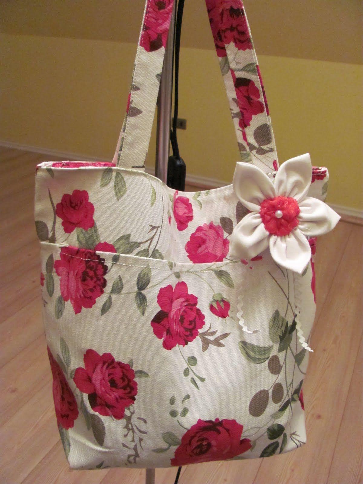 Bolsos en tela con moldes el foro de manualidades hawaii - Telas para hacer bolsos ...