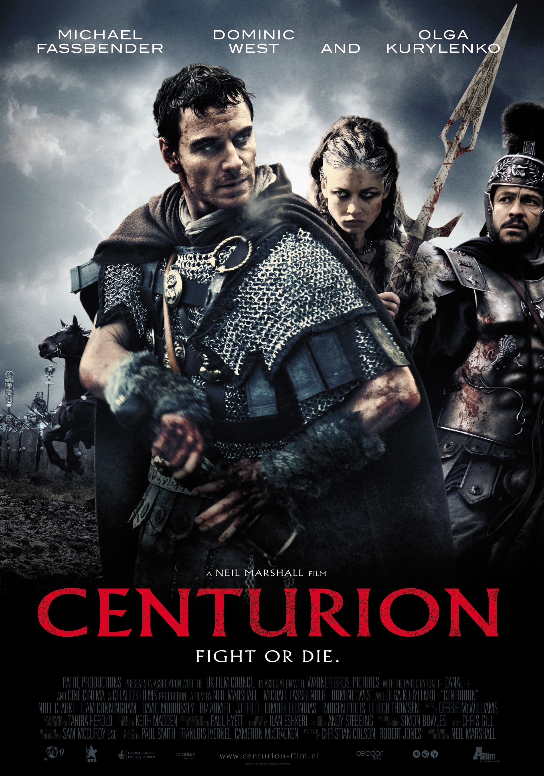 Centurion (2010) - Cinematography by Sam McCurdy - Costume Design by Keith Madden - Directed by Neil Marshall - Music by Ilan Eshkeri - Production Design by Simon Bowles (1907×2717)