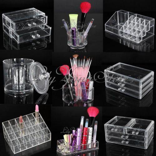organisateur rangement bo te rouge l vres brosse mascara. Black Bedroom Furniture Sets. Home Design Ideas