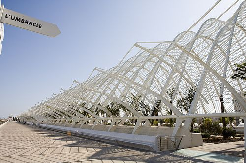Modern Greenhouse Umbracle City Of Arts And Science Valencia Modern Greenhouses Greenhouse Modern