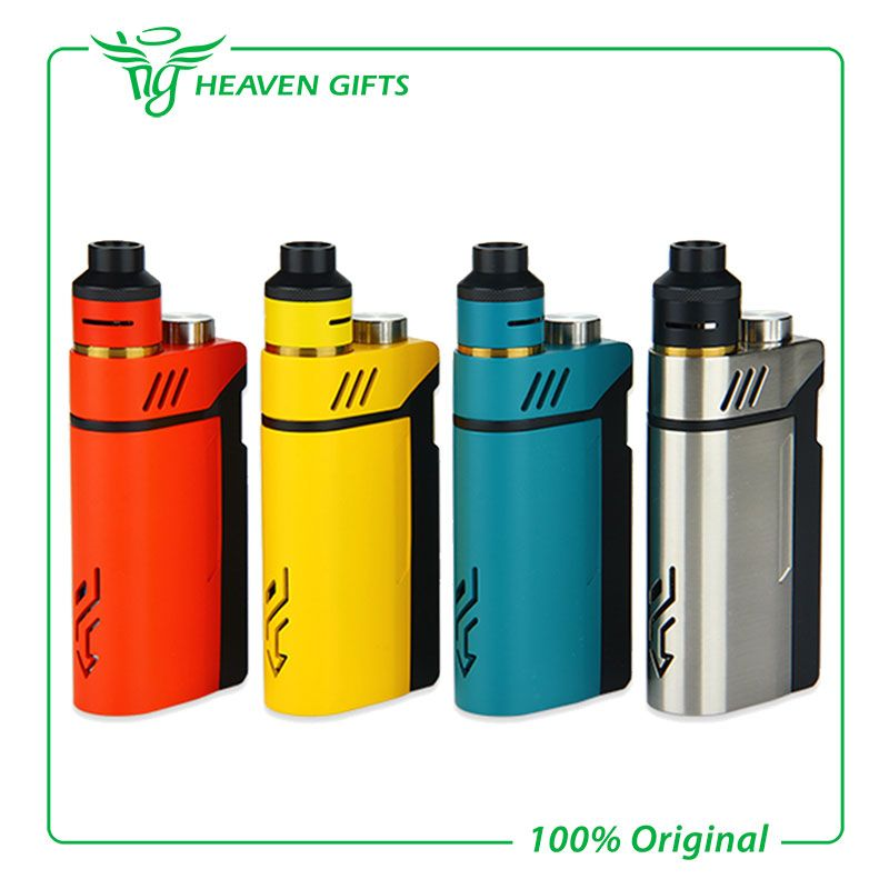 100% Original IJOY RDTA BOX Kit 200W with 12.8ml Large e-juice tank & 220W RDTA BOX MOD & IMC-3 / IMC-Coil 3 coil E-Cig Vape Mod