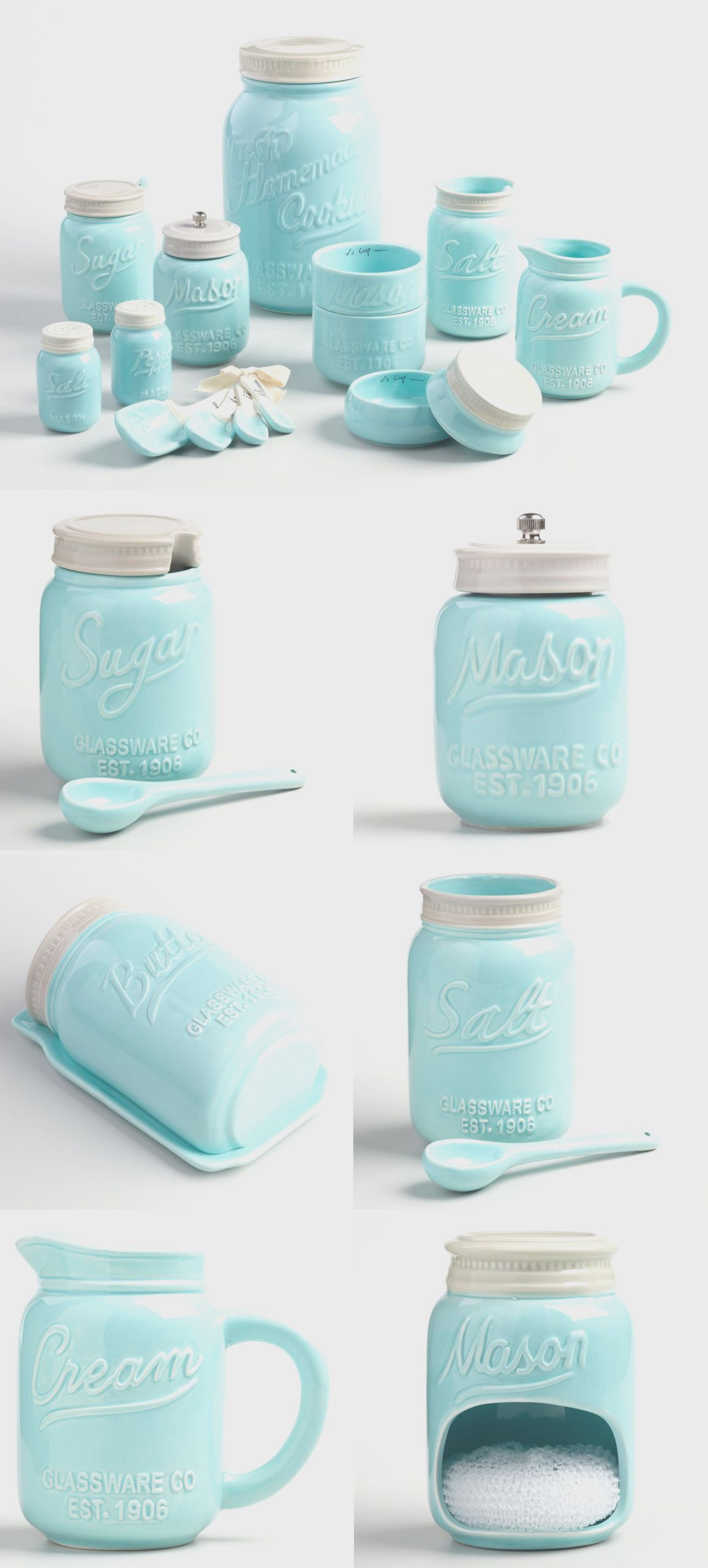 10 Luxury Ideas Kitchen Decor With Mason Jars Kitchen Decor Glass Jars Kitchen Jars Decor Mason Jar Kitchen Decor