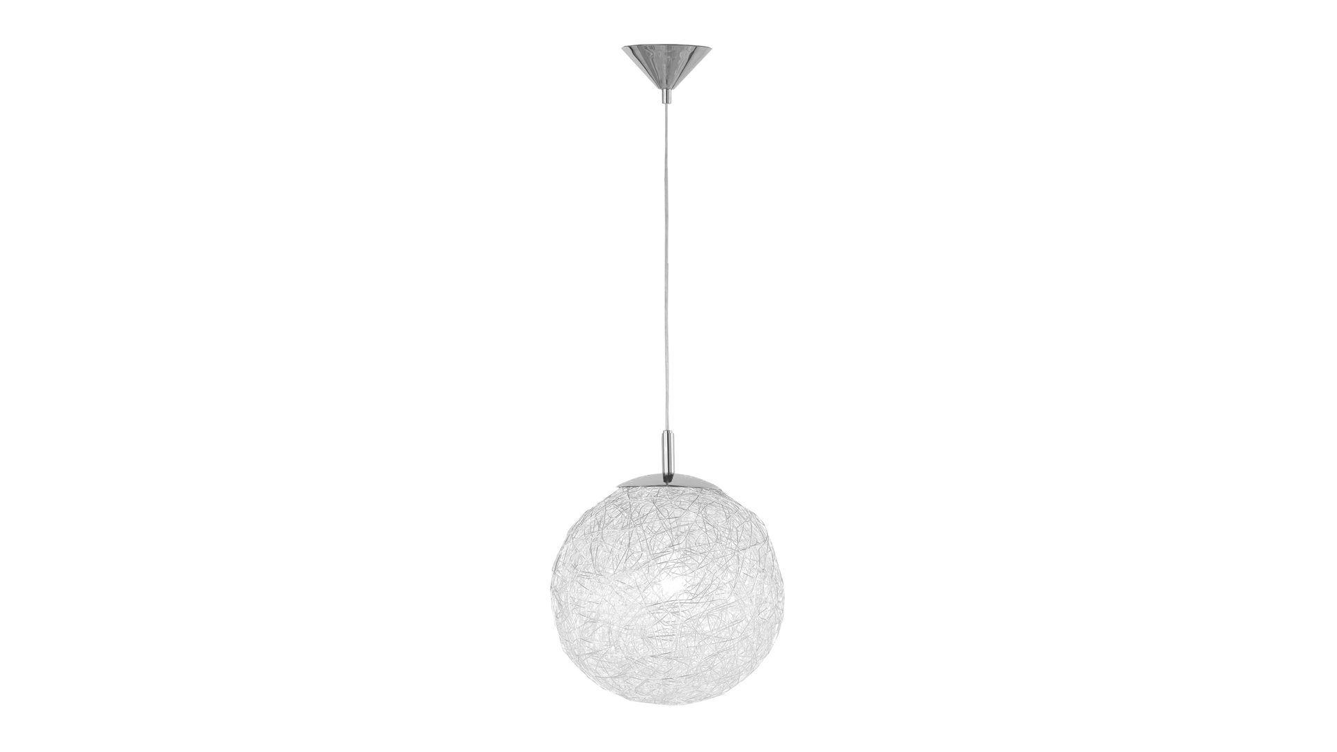Drahtkugel Pendelleuchte Dakota Fur Ihre Wohnaccessoires Verchromter Lampenschirm Durchmesser Ca 30 Cm Lampenschirm Lampe Pendelleuchte