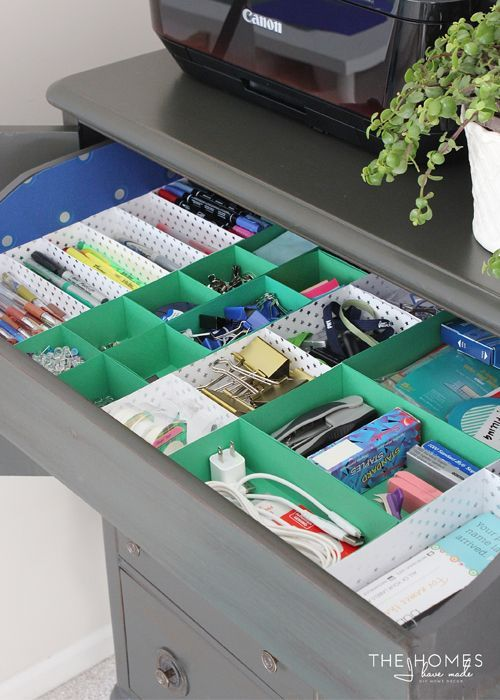 15 Clever And Inexpensive Drawer Organization Ideas Diy Drawer