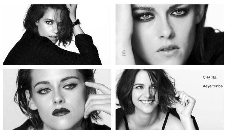 KRISTEN STEWART NUOVO VOLTO DEL MAKE UP CHANEL E' Kristen Stewart il nuovo volto della campagna Chanel Eyes Collection 2016, collezione makeup interamente dedicata allo sguardo e splendidamente interpretata dall'attrice nei vari ritratti realizzati...