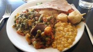 Delicious Indian veggie goodness at Kalpna! :-)