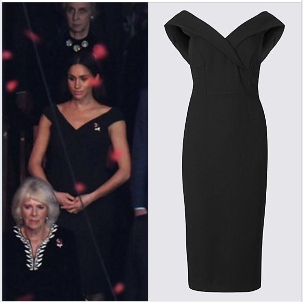 meghan markle in marks and spencer double crepe bodycon dress bodycon dress dresses meghan markle style bodycon dress dresses meghan markle style
