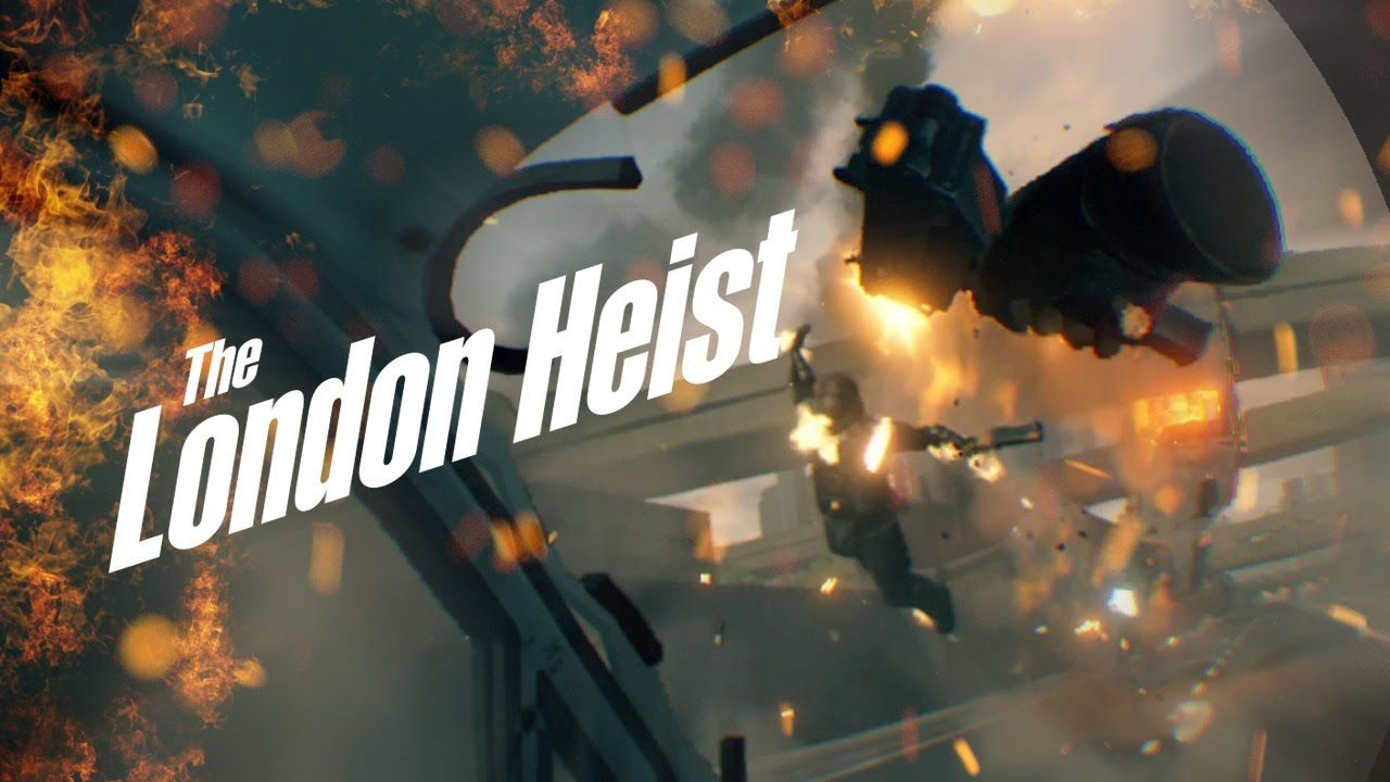 8415c7a55198  The London Heist   Video  The London Heist was epic! First cinematic  action packed virtual reality experience so far!  Playstation4  PS4  Sony   videogames ...
